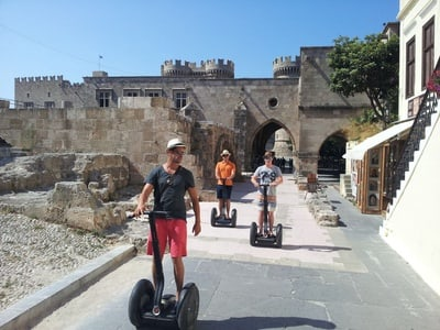 Rhodes: Medieval Old Town 2-Hour Segway Tour