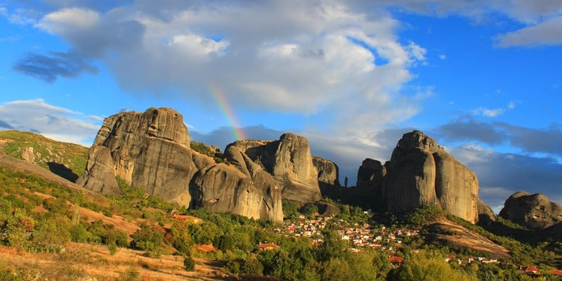 De Thessalonique: 2 jours Excursion en train de Meteora