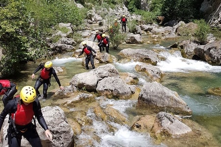 Split and Trogir: 5.5-Hour Canyoning Tour