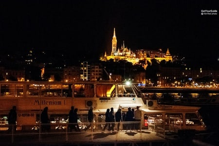1.5-Hour Budapest Night Cruise on the Danube