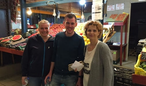 Market Tour with Hungarian Cooking Class