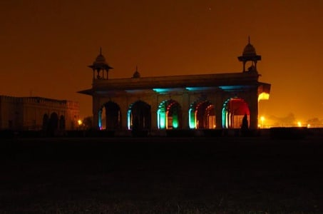 Old Delhi walk with Red Fort Light and Sound Show