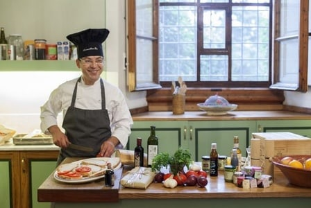 Full-Day VIP Cooking Class at a Noble Villa in Chianti