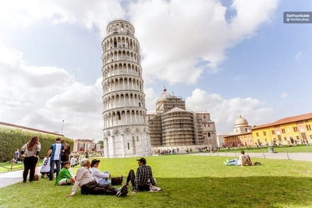 Timed Entrance Ticket to Leaning Tower of Pisa & Cathedral