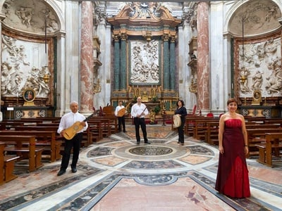 Rome Baroque Concert and Tour of Church of Sant'Agnese in Agone
