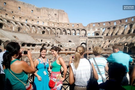 Skip the Line: Colosseum and Ancient Rome Walking Tour