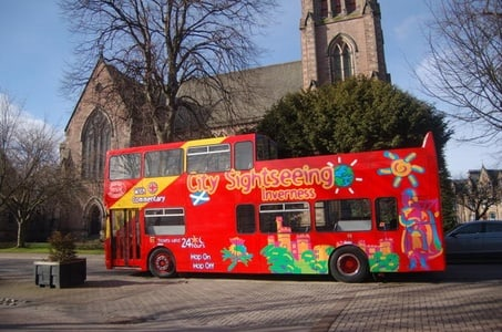 City Sightseeing Inverness Hop-On Hop-Off Tour