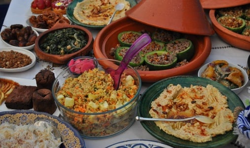 Middle-Eastern Moroccan Fusion Vegetarian/Vegan Experience
