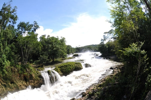 Nubes Waterfalls + Comitan Magical Town from Tuxtla Gtz