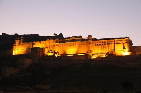 Night Tour of Jaipur City Monuments and Streets