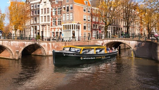 Amsterdam: 1.5-Hour Circle Line Canal Cruise