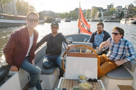 Private Boat Ride: See Amsterdam From The Water