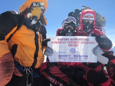 Everest (8848 m) South Face Expedition