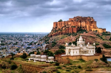 Private Jodhpur City Tour With Mehrangarh Fort and Jaswant Thada