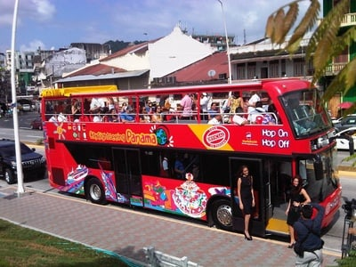 Day Tour Panama Hop-On & Hop-off Sightseeing Bus
