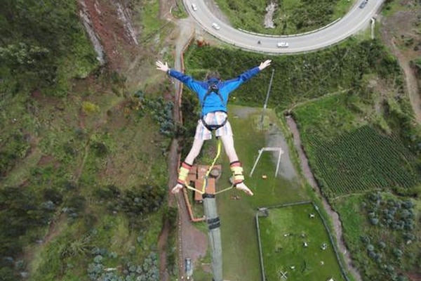Bungee Jump and Slingshot Experience in Cusco