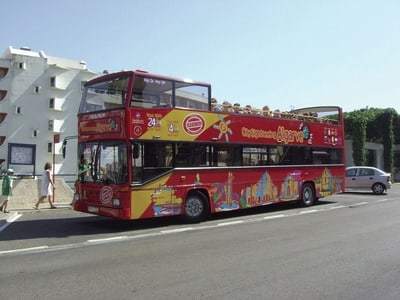 24/96 Hour Hop-On, Hop-Off Bus Tour in Albufeira