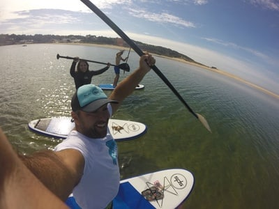 Lisbon Bike and Stand-Up Paddleboard Combo