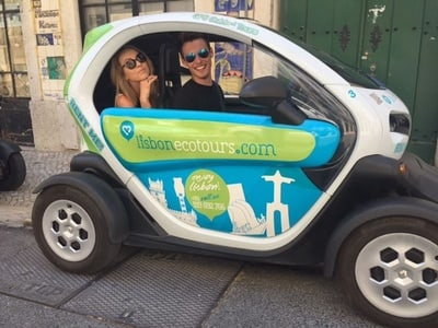 Lisbon: Electric Car Discovery Tour & GPS Audio Guide