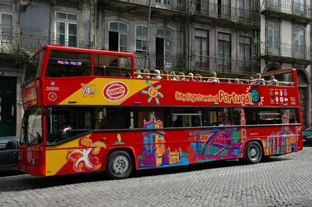 Porto Hop-on Hop-off Tour: 1- or 2-Day Ticket