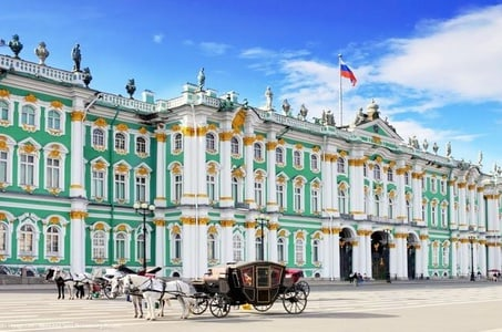 Half-Day St Petersburg City & Hermitage Museum Tour