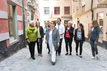 Stockholm: Private Old Town Walking Tour