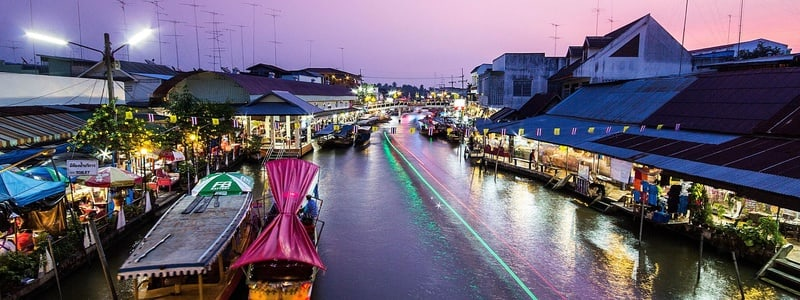 Thailand Floating Markets Day Trip