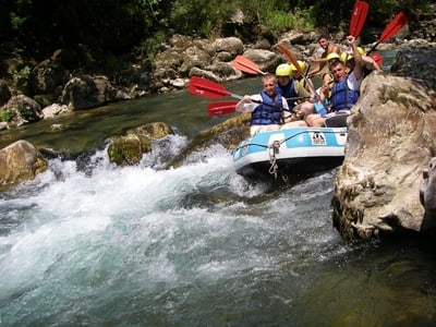 Full-Day White Water Rafting at Köprülü Canyon