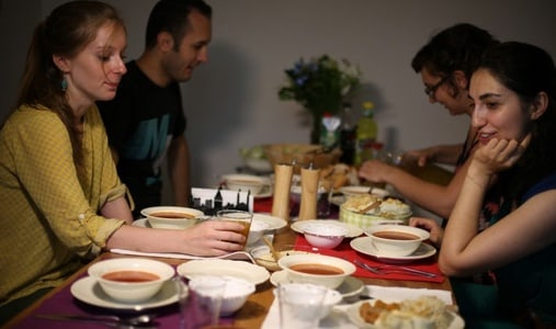 Experience a Turkish Family's Daily Meal
