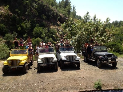 Marmaris Jeep Safari: Full-Day Guided Tour with Lunch