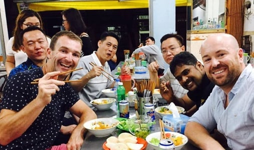 Learning Vietnamese customs from traditional food
