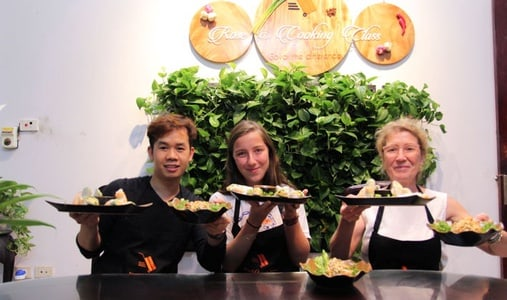 Market Tour and Cooking Class in Hanoi