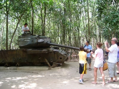 Cu Chi Tunnels Experience