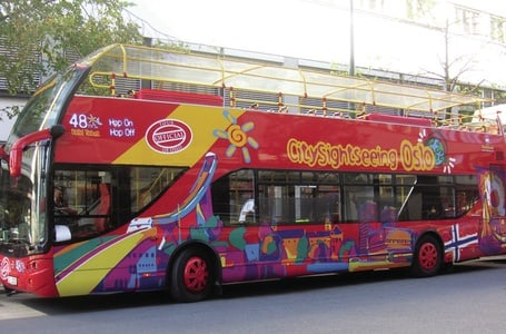 Oslo: Hop-on Hop-off City Sightseeing Tour