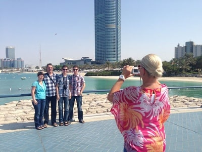 From Dubai: Private Full-Day Tour to Abu Dhabi