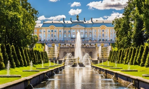 Peterhof Grand Palace and Park small-group tour from St Petersburg
