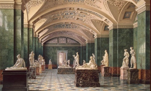 St Petersburg Hermitage Museum small group tour