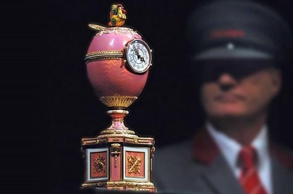 Faberge Masterpieces with 3-Course Traditional Russian Dinner with Vodka