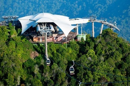Langkawi Cable Car And Oriental Village With 1 Way Transfer