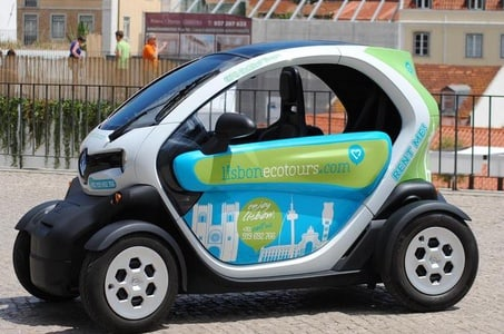 Electric Car with GPS Audio Guide Full Day Tour in Lisbon