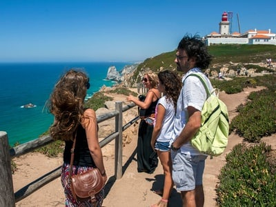Full Day Sintra with Peña Palace, Cascais and Estoril Small Group Tour