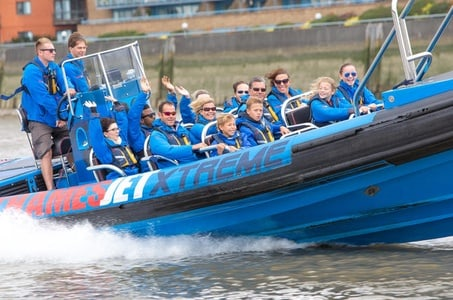 River Thames Fast Boat Experience in London