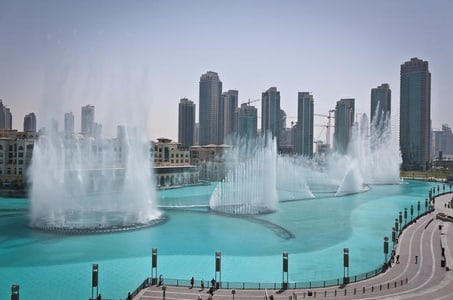 Dubai full day tour with lunch at fountains - abu dhabi