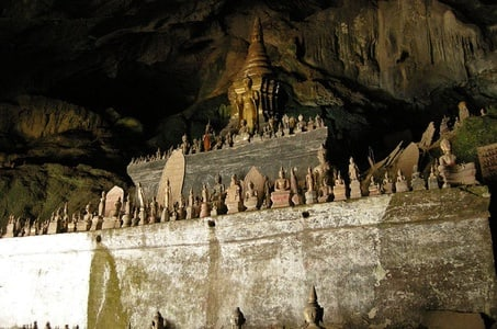 Pak Ou Caves and Kuang Si Fall Day Tour