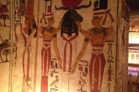 Day Tour to Nefertari's Tomb King Tut's Tomb Valley of the Kings and Queen Hatshepsut Temple