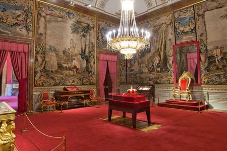 Royal Palace of Madrid skip-the-line early tickets and guided tour