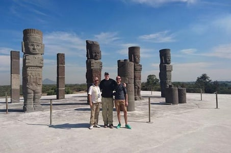 Private tour Tula Archaeological and Teotihucan Pyramids