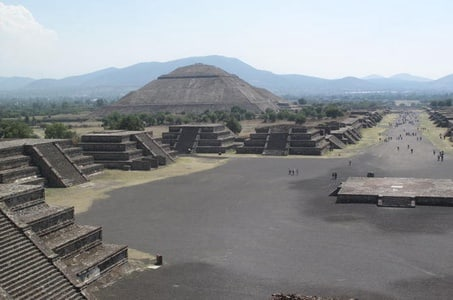 Teotihuacan Pyramids and Shrine of Guadalupe