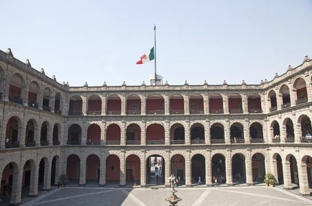 Upper and Lower Mexico City Architectural Tour