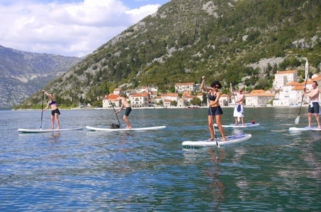 Stand-Up-Paddle Board at Bay of Kotor from Tivat or Kotor